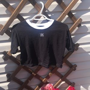 Adidas cropped tee